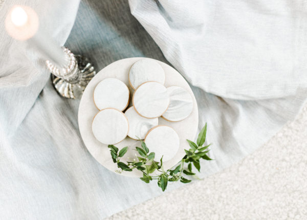 koekjes met marmeren look Wedding Eve