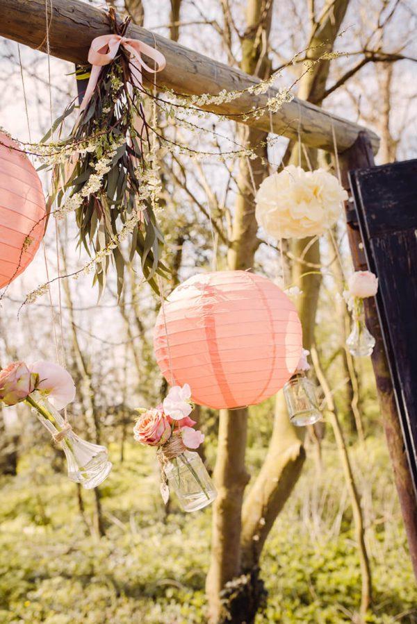 trouwen in een boomgaard Wedding Eve