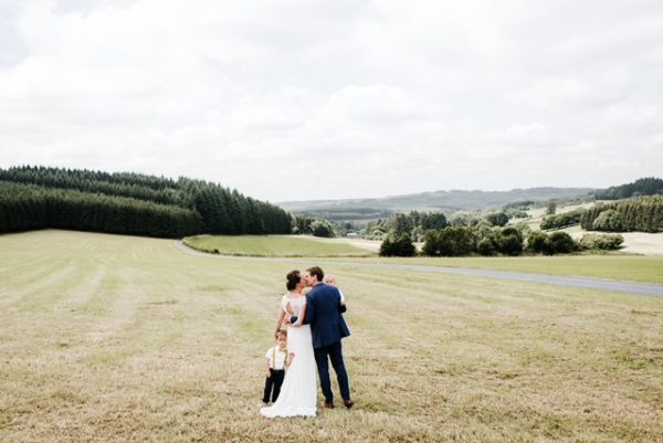 trouwen in de Belgische Ardennen