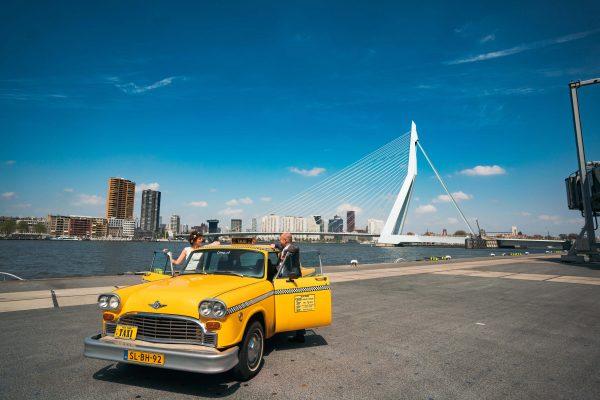 bruidspaar city chic Rotterdam
