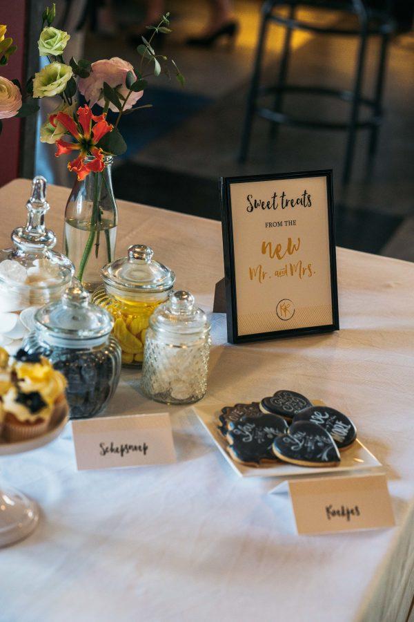 snoeppotten bruiloft