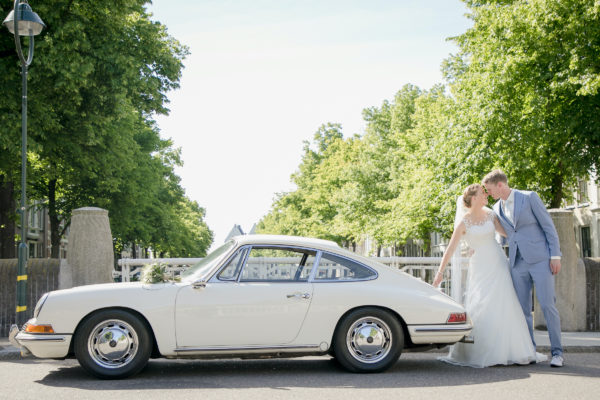 trouwauto in Gouda Wedding Eve